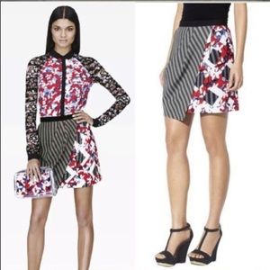 Peter Pilotto For Target Faux Wrap Floral Skirt